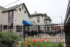 Dine on the patio at Obed & Isaacs 2